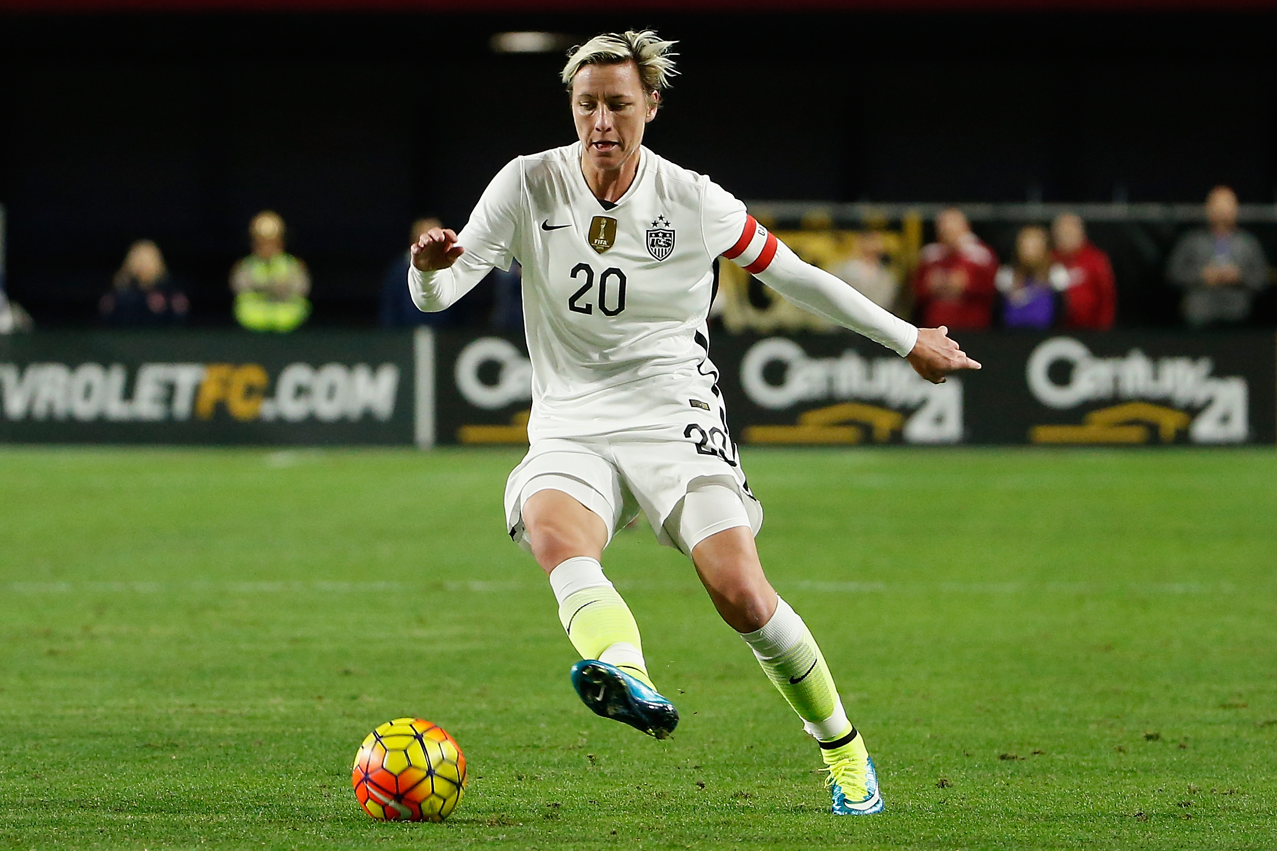 Abby Wambach, world football legend and inspiration for Sam Kerr