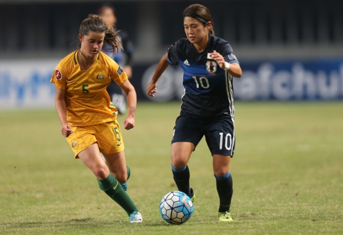 The Young Matildas fell to Japan. Image: AFC