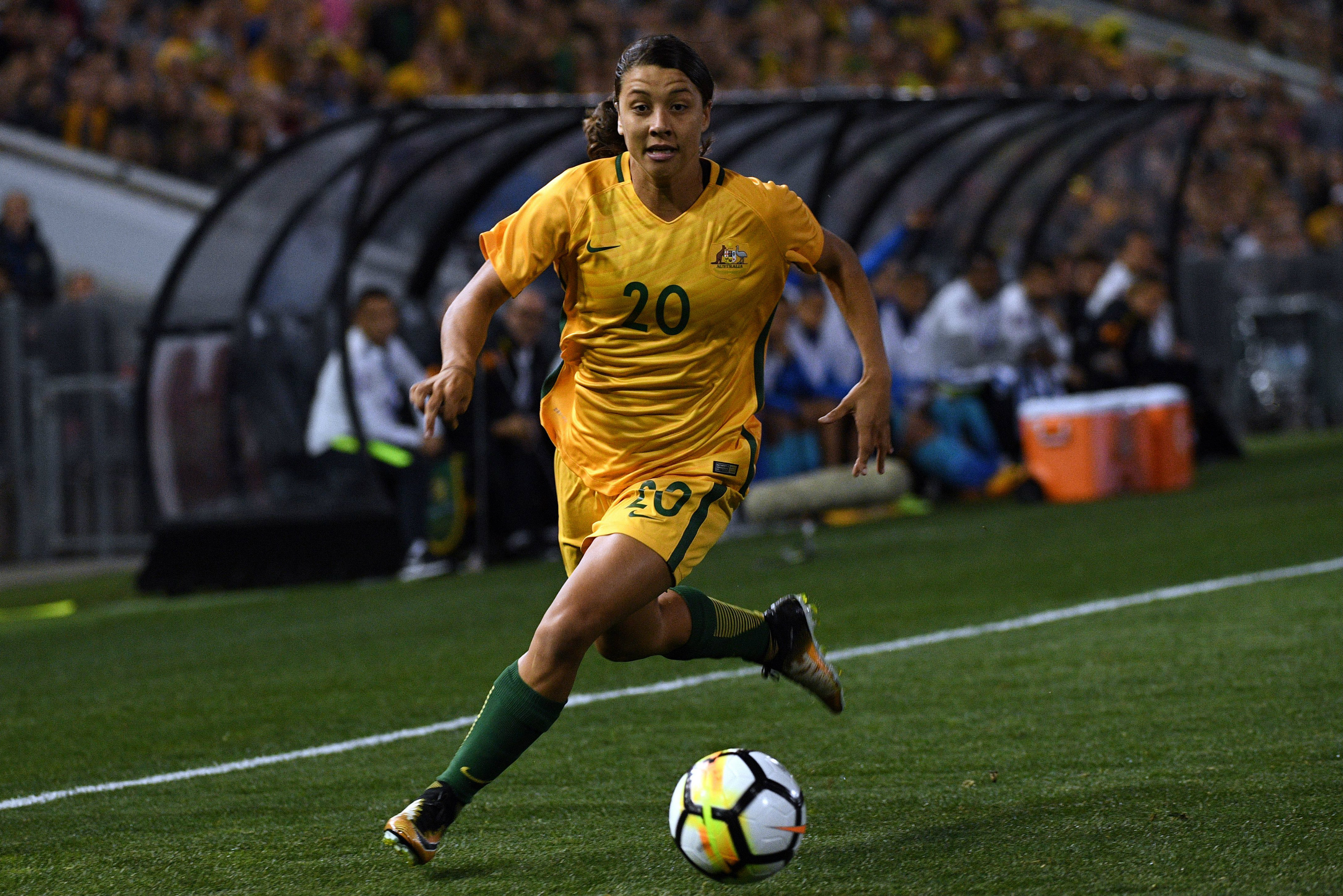 Sam Kerr has enjoyed a bumper year for both club and country.