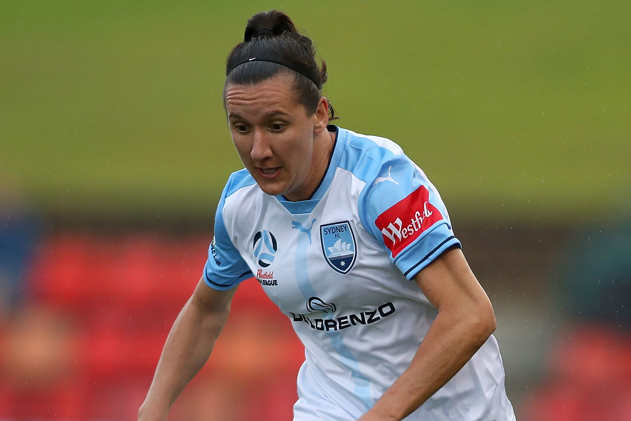 Lisa De Vanna's first appearance for Sydney FC this season didn't go to plan.