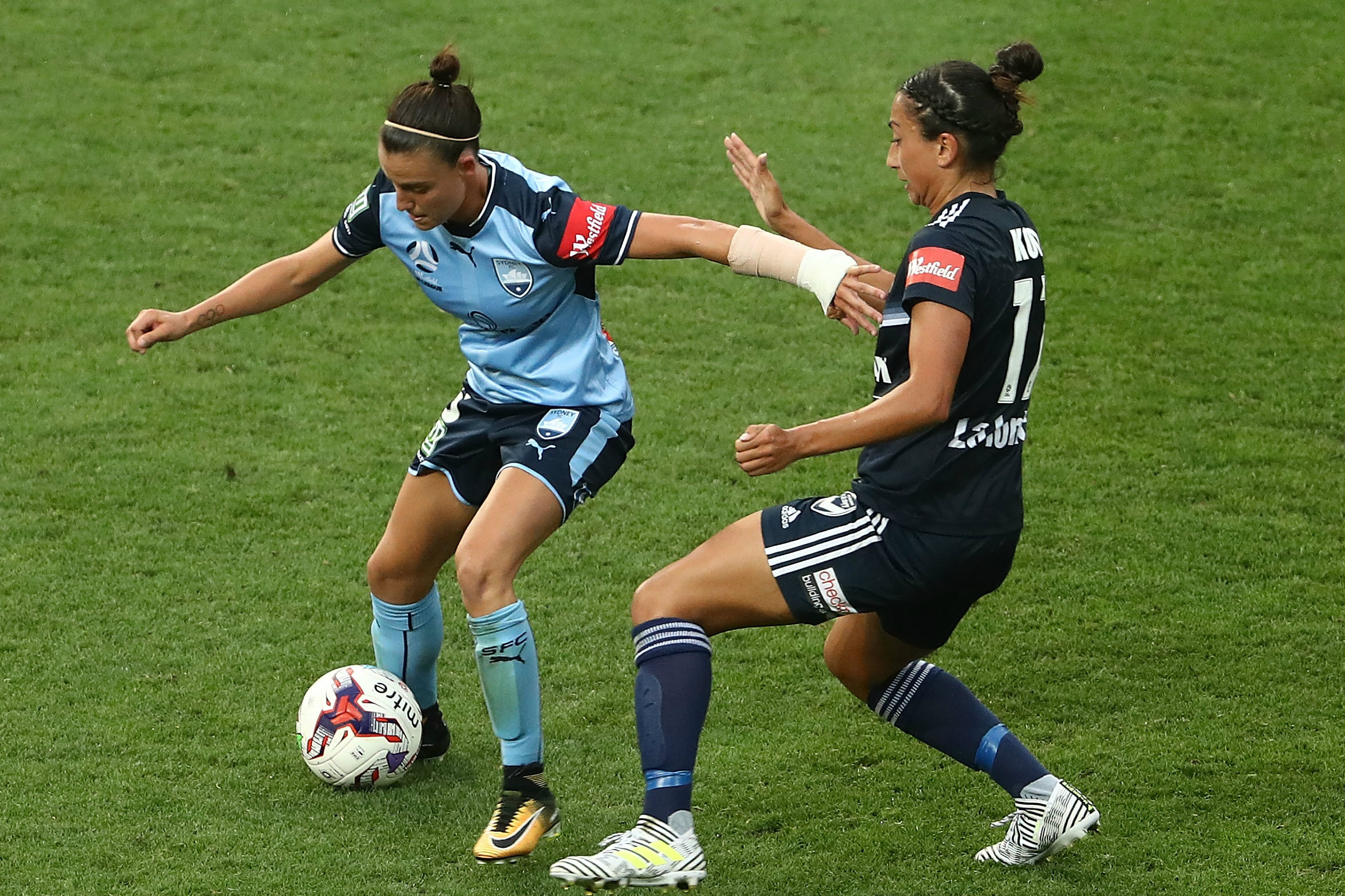 Chloe Logarzo's goal proved to be the winner against Melbourne Victory.