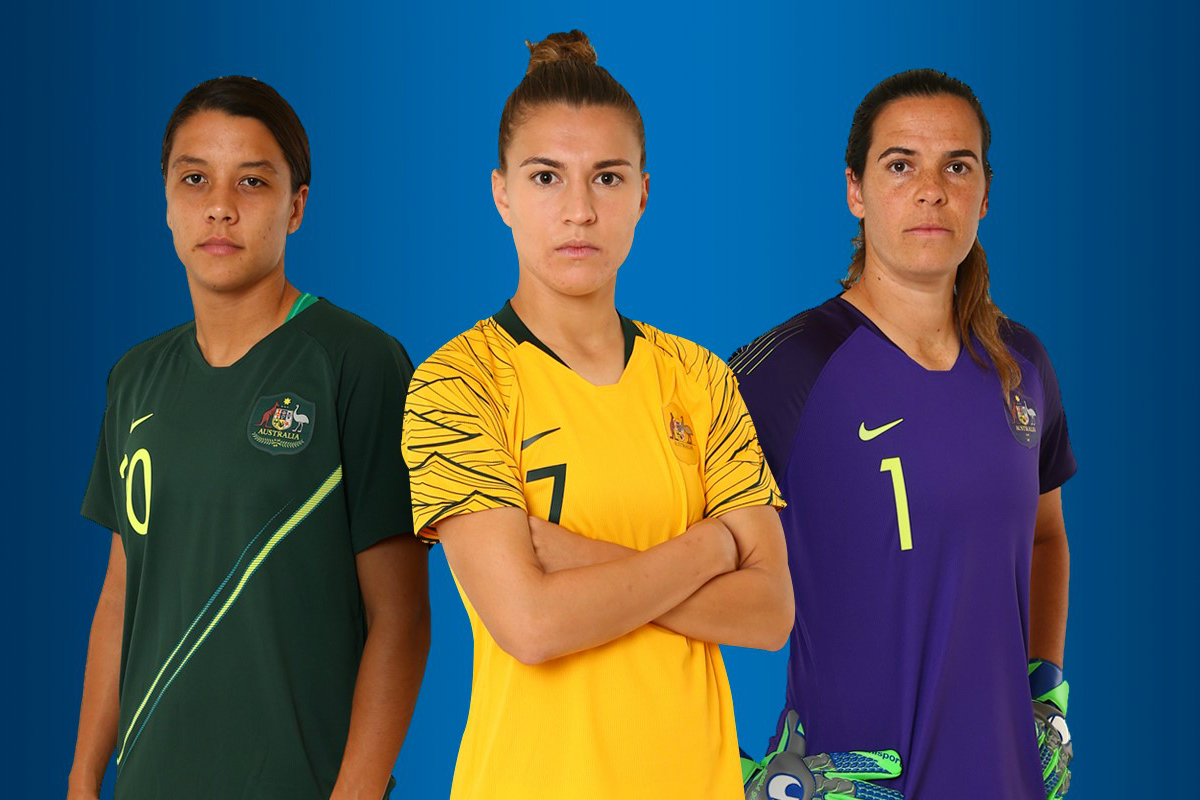 1f0ce31b599 Nike launch fresh Westfield Matildas kit