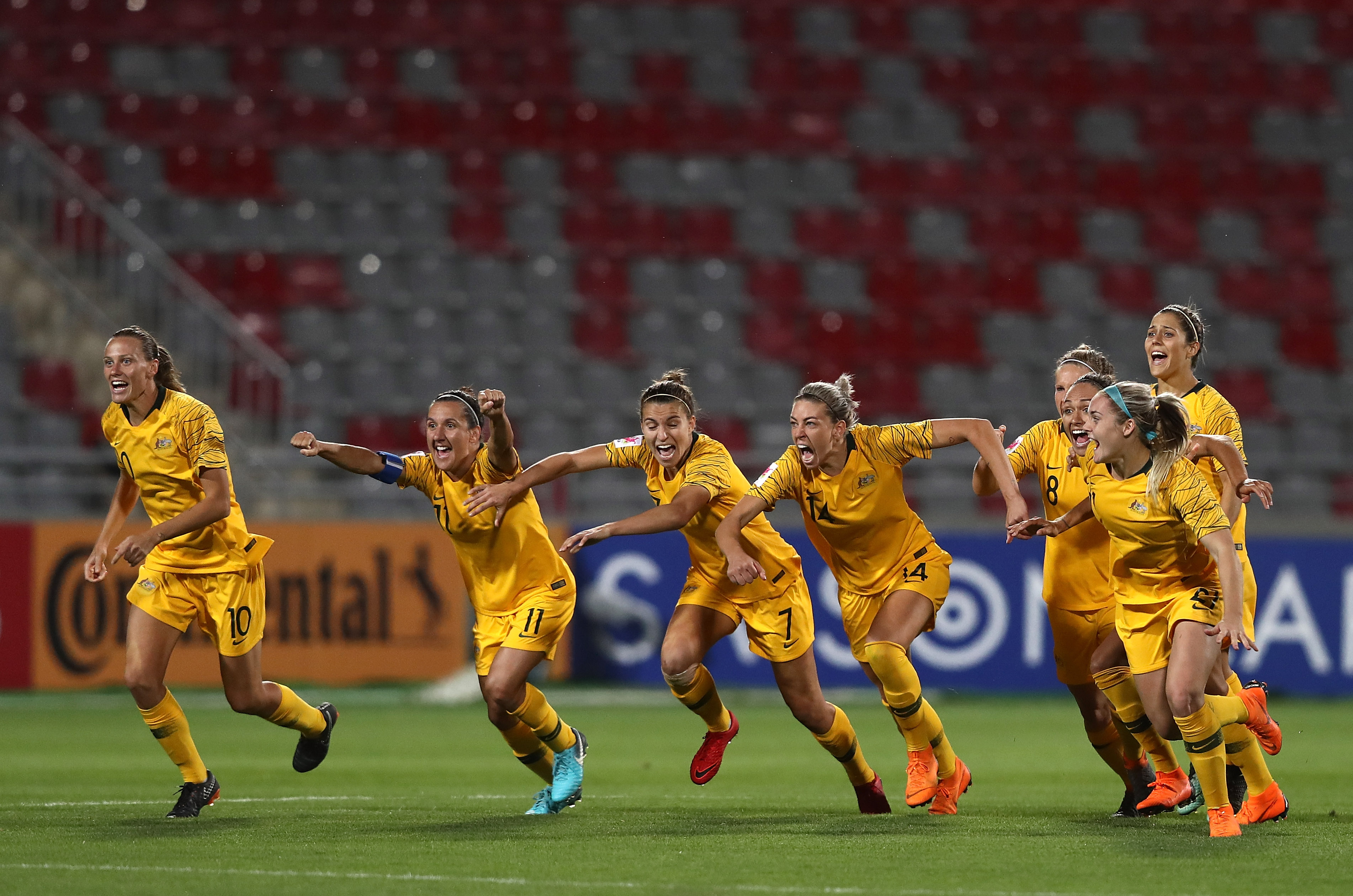 Matildas team