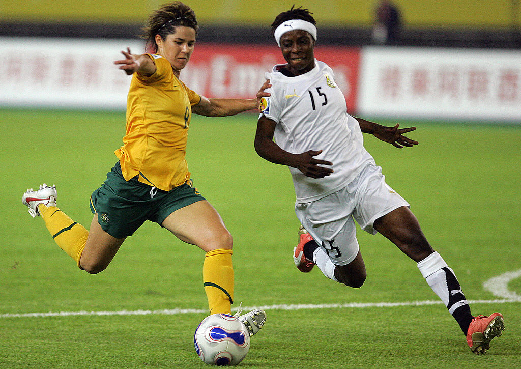 World Cup Countdown_10 days to go_Sarah Walsh v Ghana