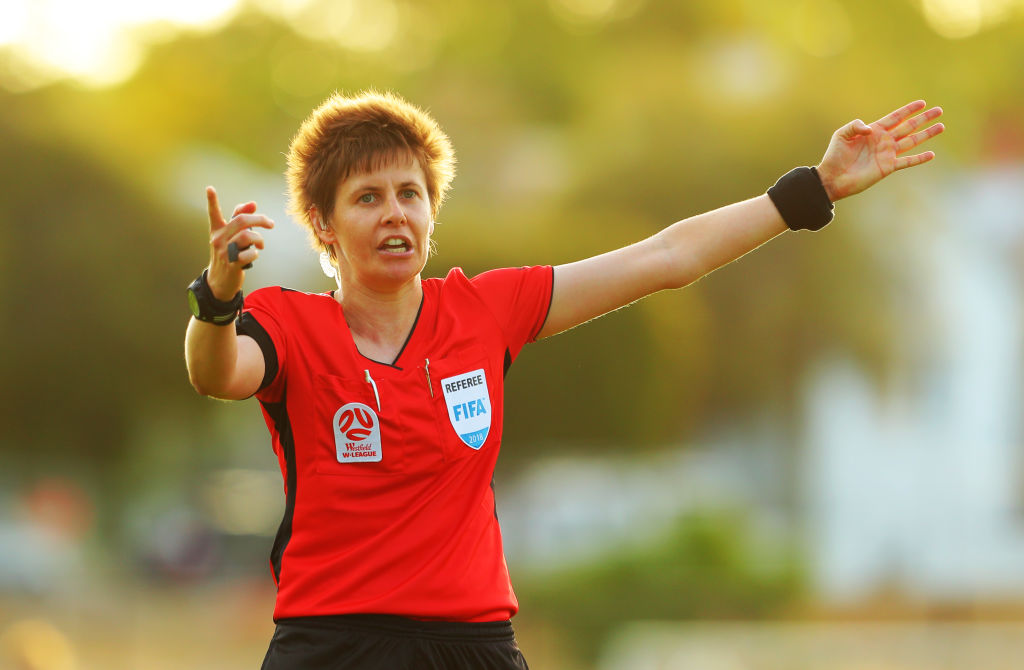 Casey Reibelt Australian referee at FIFA Women's World Cup France 2019™
