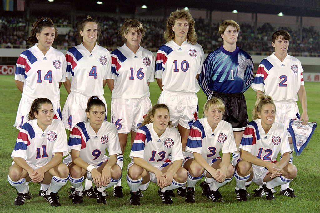 1991 FIFA Women's World Cup winners USA