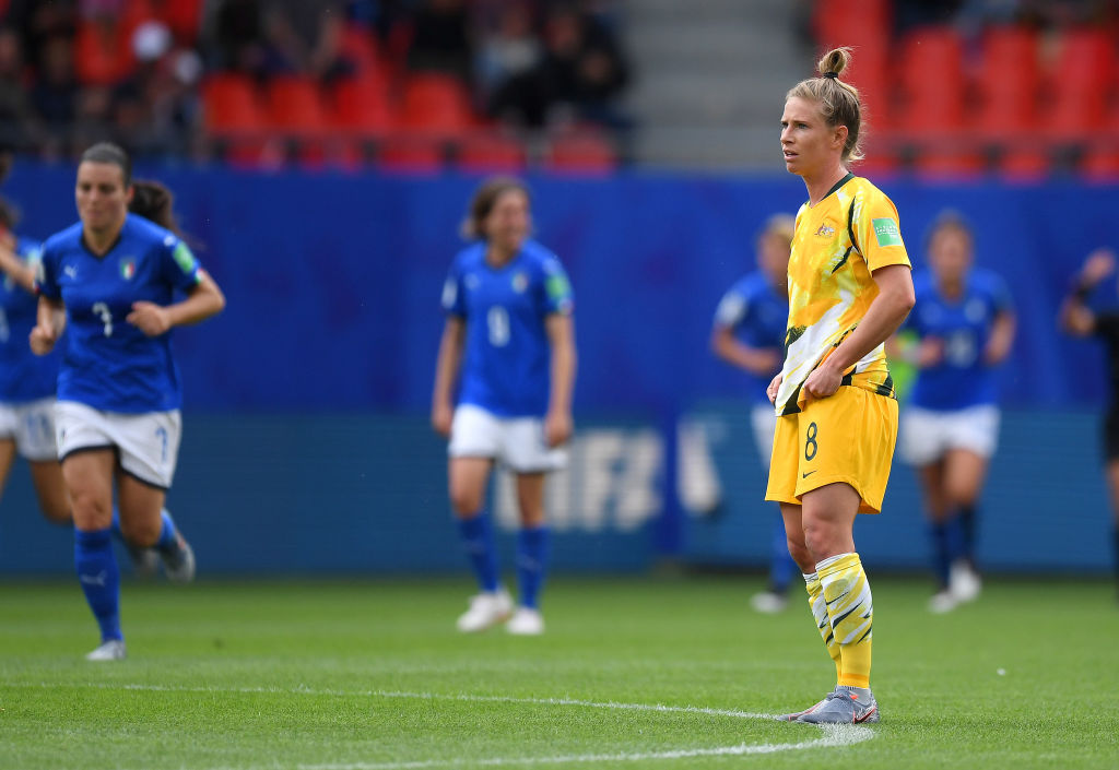"We 100% believe in what we're trying to do at World Cup,"" Elise Kellond-Knight, Matildas"
