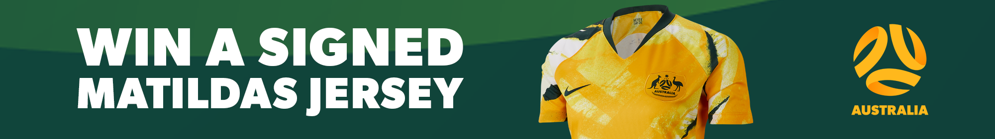Win a Westfield Matildas Jersey