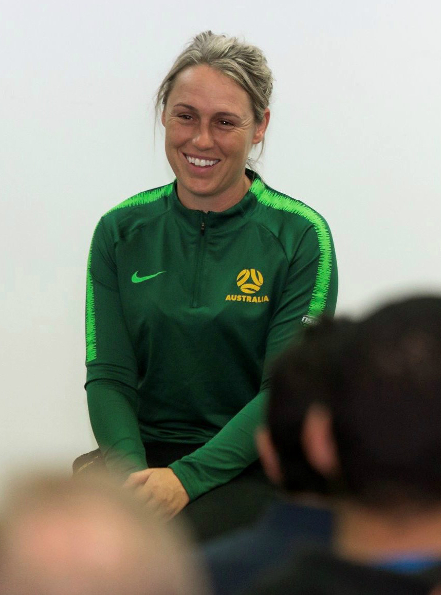 Former Matildas Leah Blayney will oversee two roles in women's football