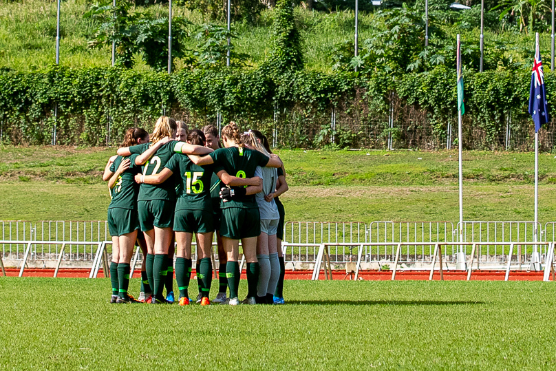 The Junior Matildas are gearing up for the 2019 AFC U-16 Women's Championship in Thailand (pic by Joseph Mayers)