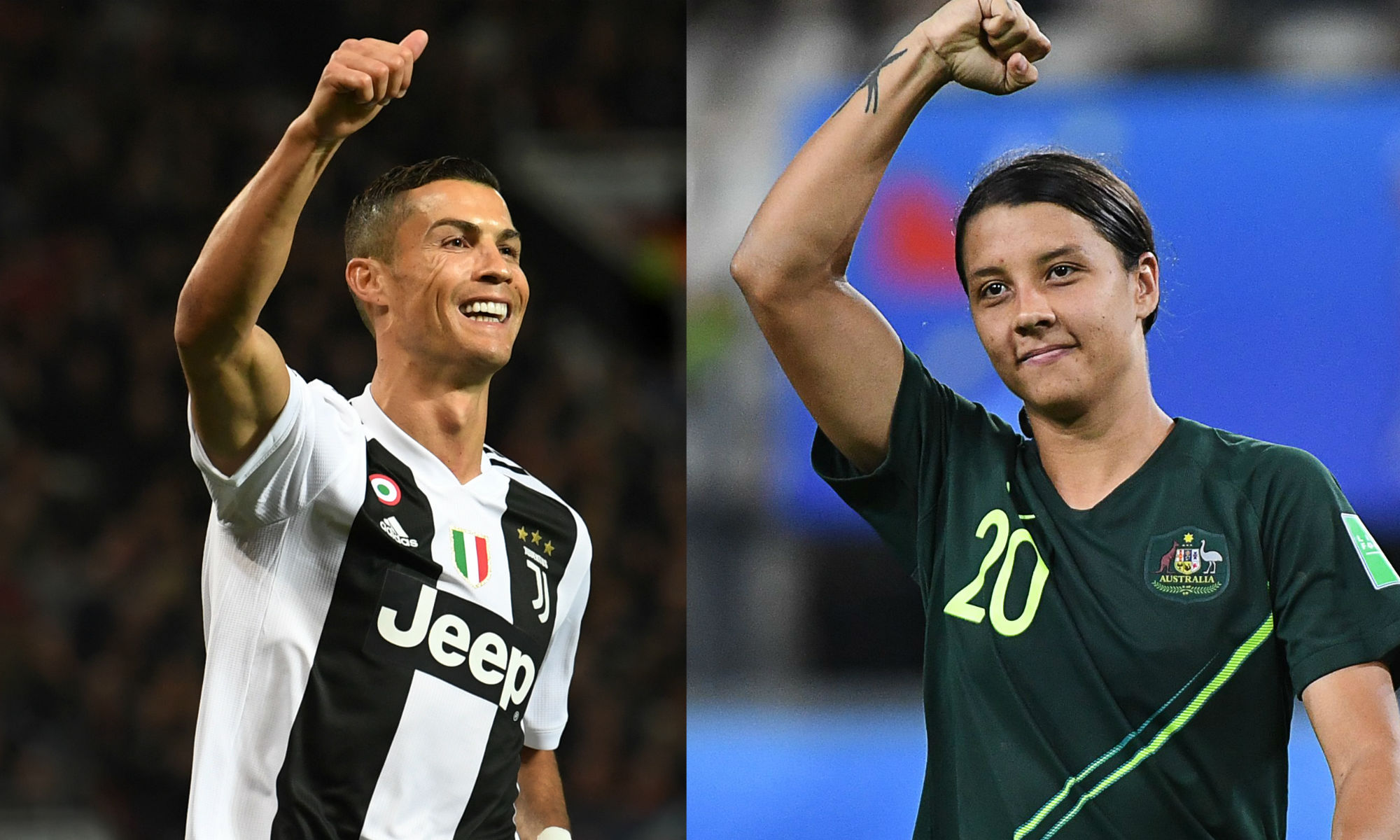 Cristiano Ronaldo backs Sam Kerr's Chelsea move