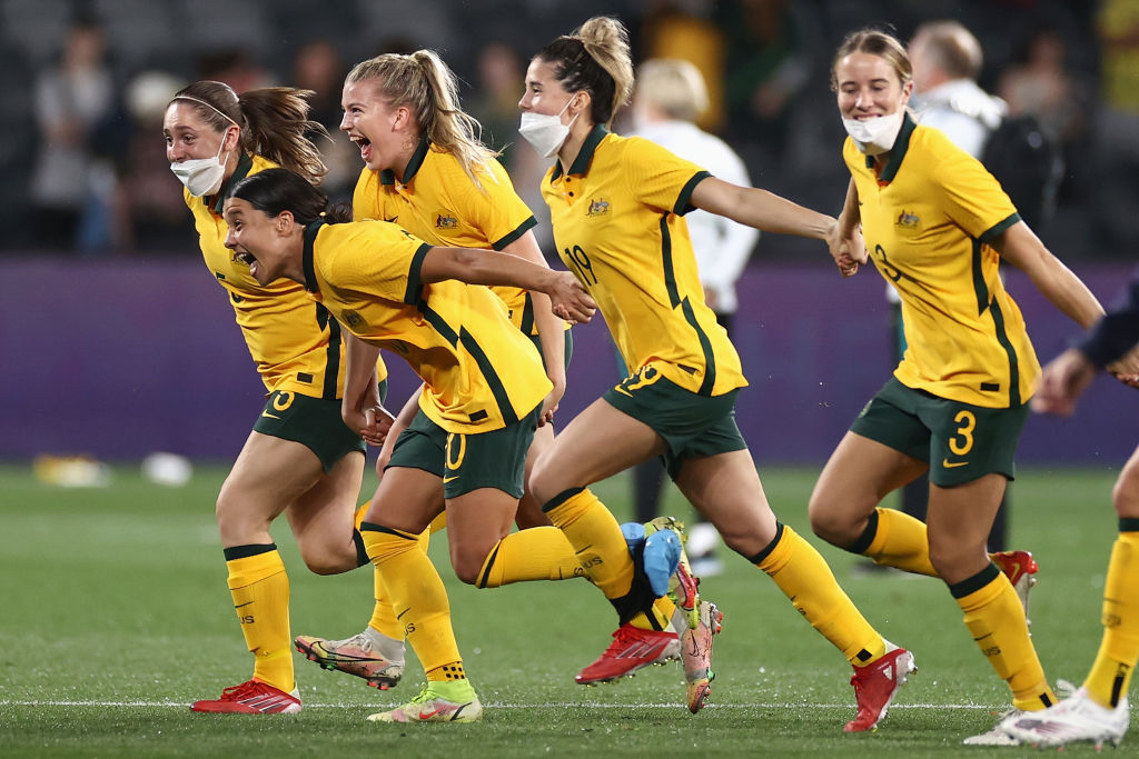 <b>Social</b> media celebrates CommBank Matildas homecoming game to remember thumbnail