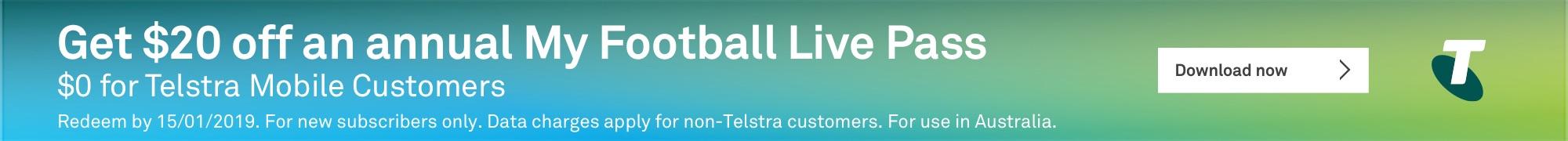 Telstra banner