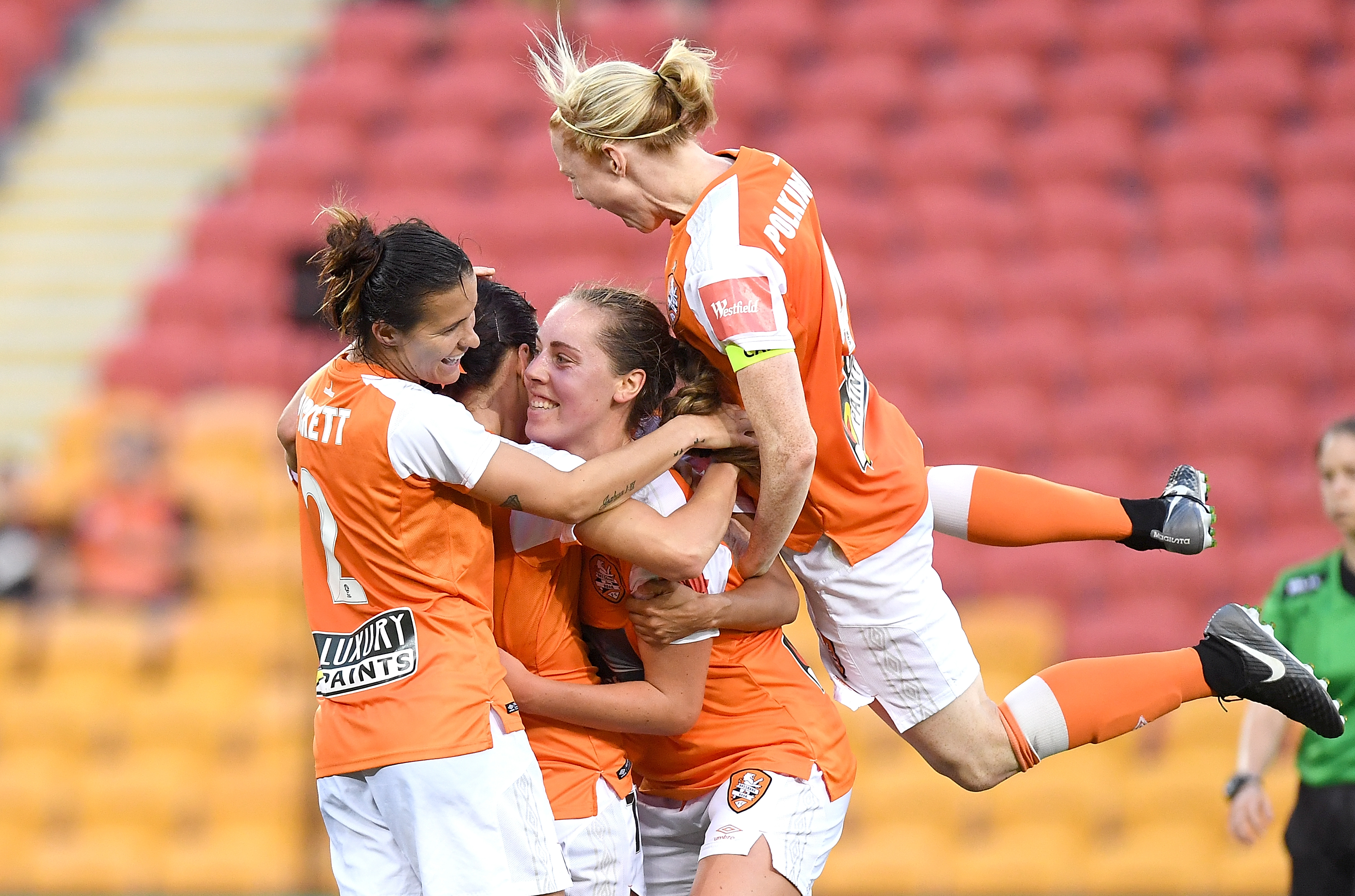 Brisbane Roar celebrations