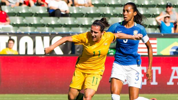 Get to know Westfield Matildas star Lisa De Vanna.