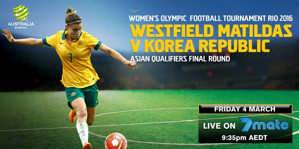 Matildas v Korea Republic