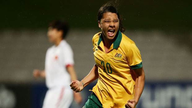 Sam Kerr is relishing a World Cup opener against USA
