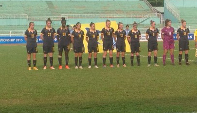 The Young Matildas downed Indonesia 7-0 in Vietnam.