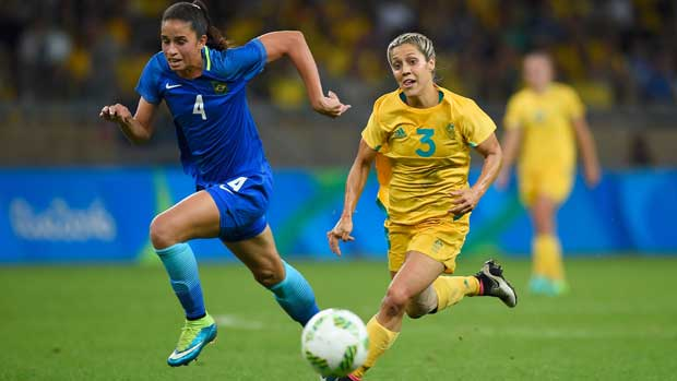Katrina Gorry v Brazil at Olympics
