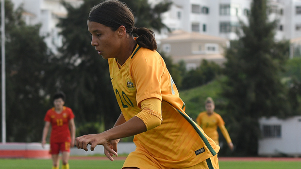 Sam Kerr scored in Sky Blue FC's win over the weekend.