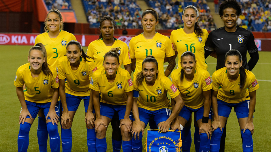 Brazil's starting XI for their opening group match.