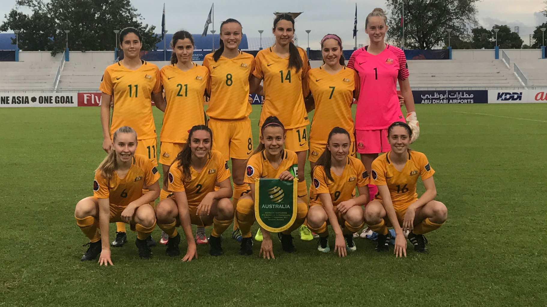 The Westfield Junior Matildas rounded out their AFC U-16 Women's Championship 2017 campaign with a 3-2 win over Bangladesh