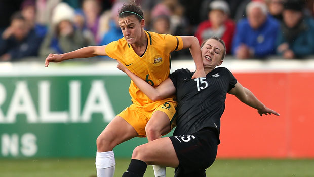 Chloe Logarzo impressed against New Zealand and is a strong contender to be in the Matildas squad for the Rio Olympics.