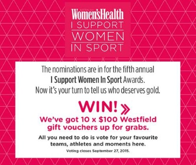 I Support Women in Sport Awards