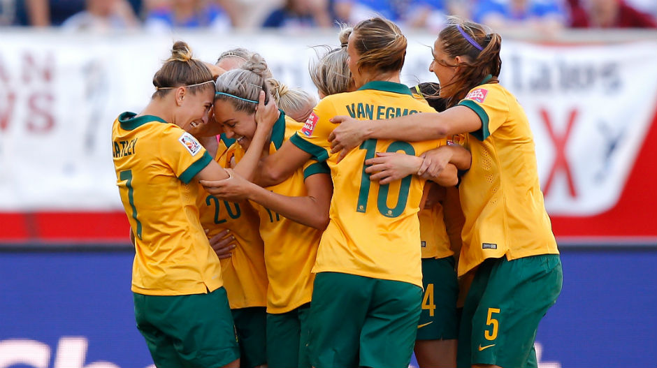 Simon's brace led the Matildas to a promising 2-0 victory over their African opponents.
