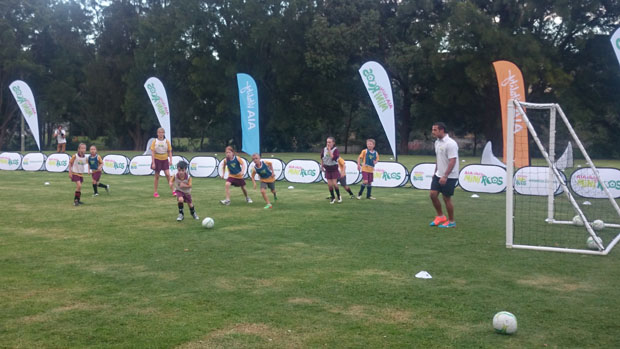FFA has launched the Miniroos football program for boys and girls aged 4-11.