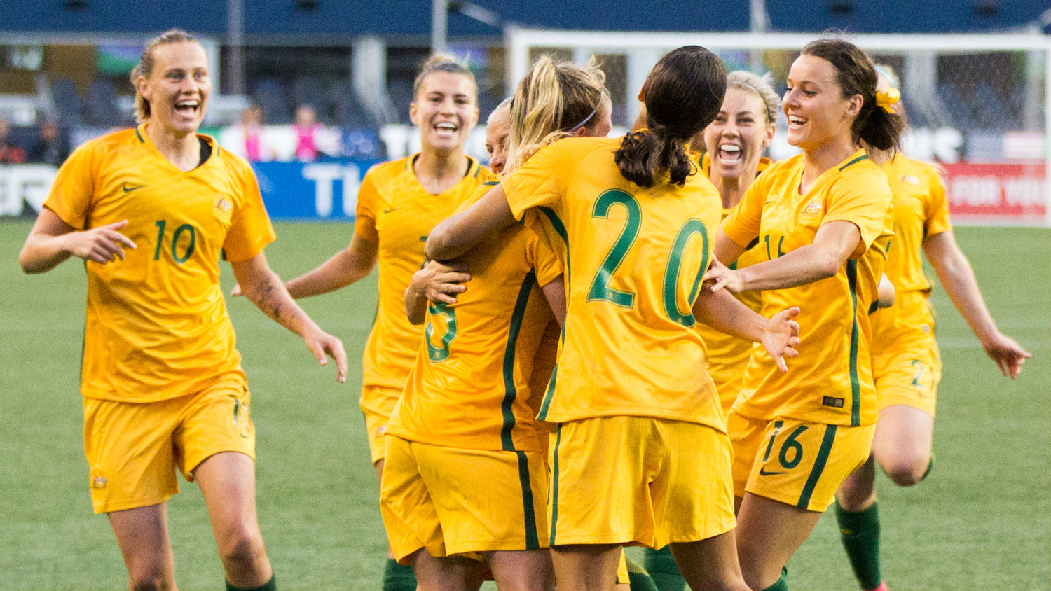 Alen Stajcic has named the Westfield Matildas squad for the home series against Brazil.