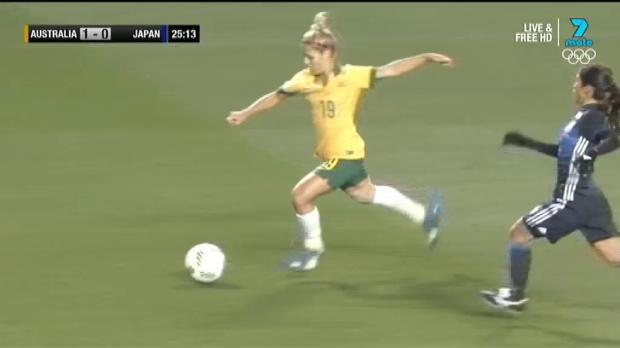 Westfield Matildas v Japan highlights