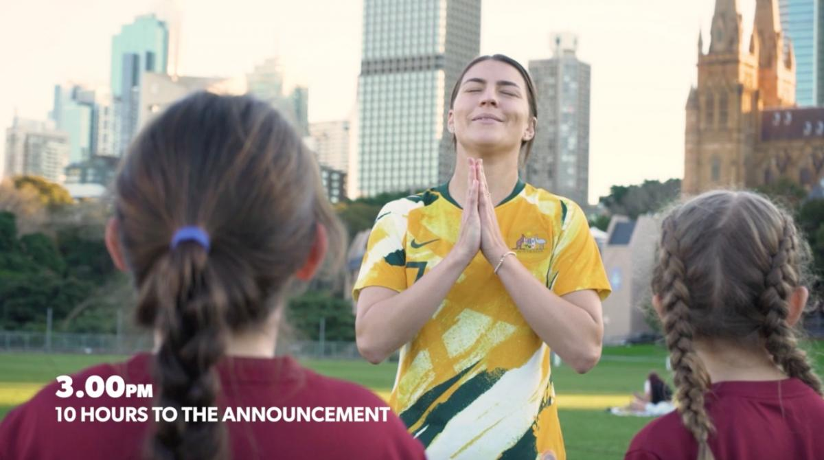 Behind the scenes from the 2023 FIFAWWC bid announcement
