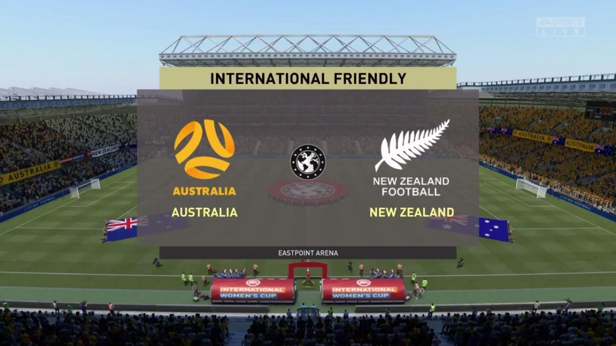 Westfield Matildas v New Zealand in FIFA 21