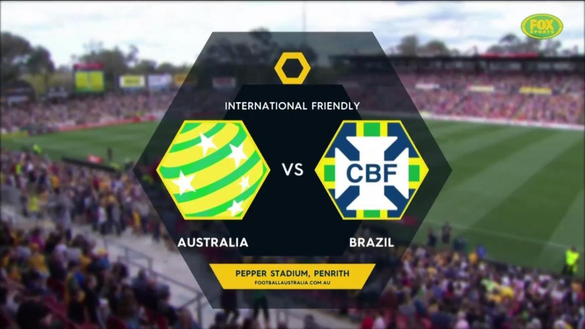 FULL MATCH: Australia v Brazil (2017)