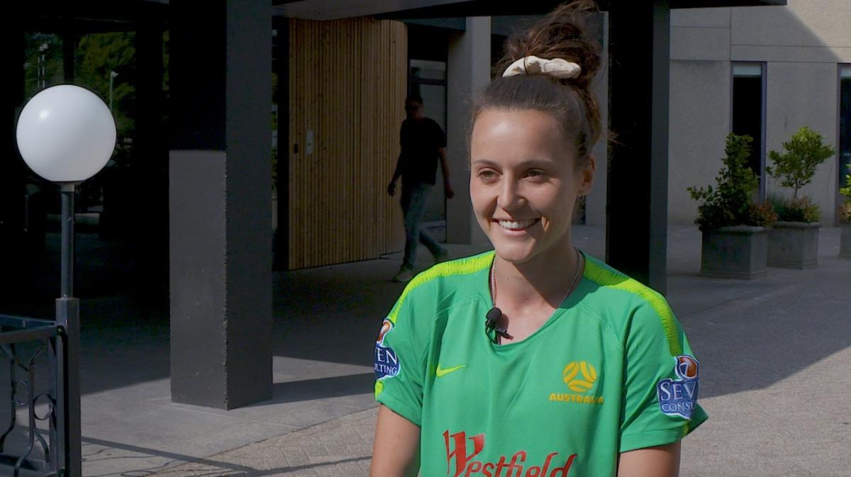 Hayley Raso relishing Dutch challenge
