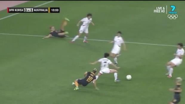 Westfield Matildas v DPR Korea highlights