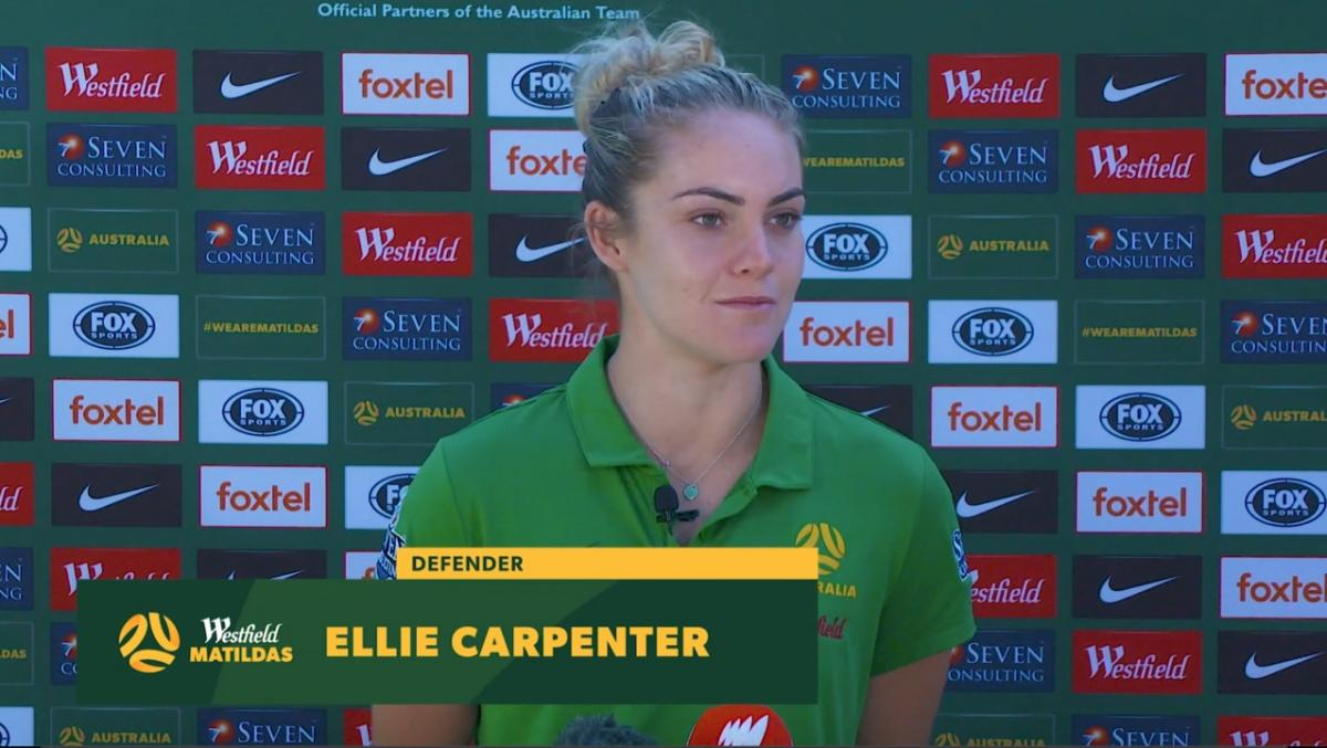 Ellie Carpenter: We're ready to put on a show
