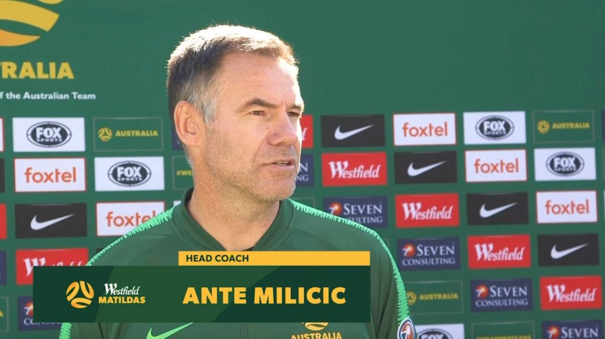 Ante Milicic previews Netherlands v Matildas