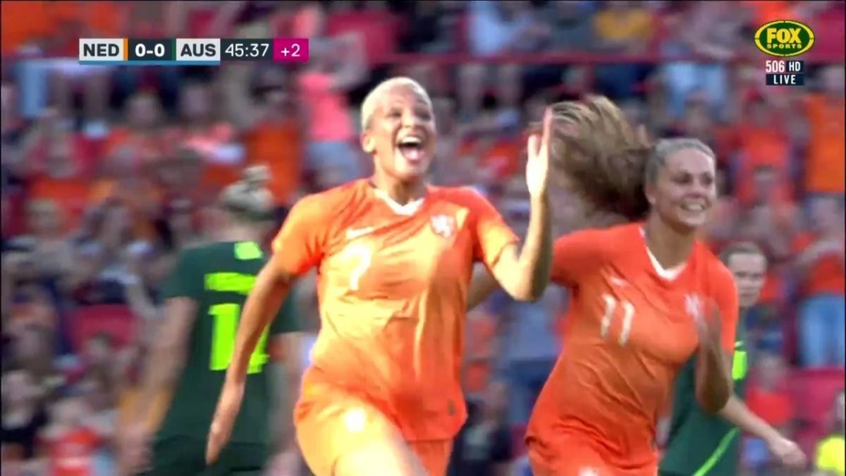 Shanice van de Sanden kick starts the action