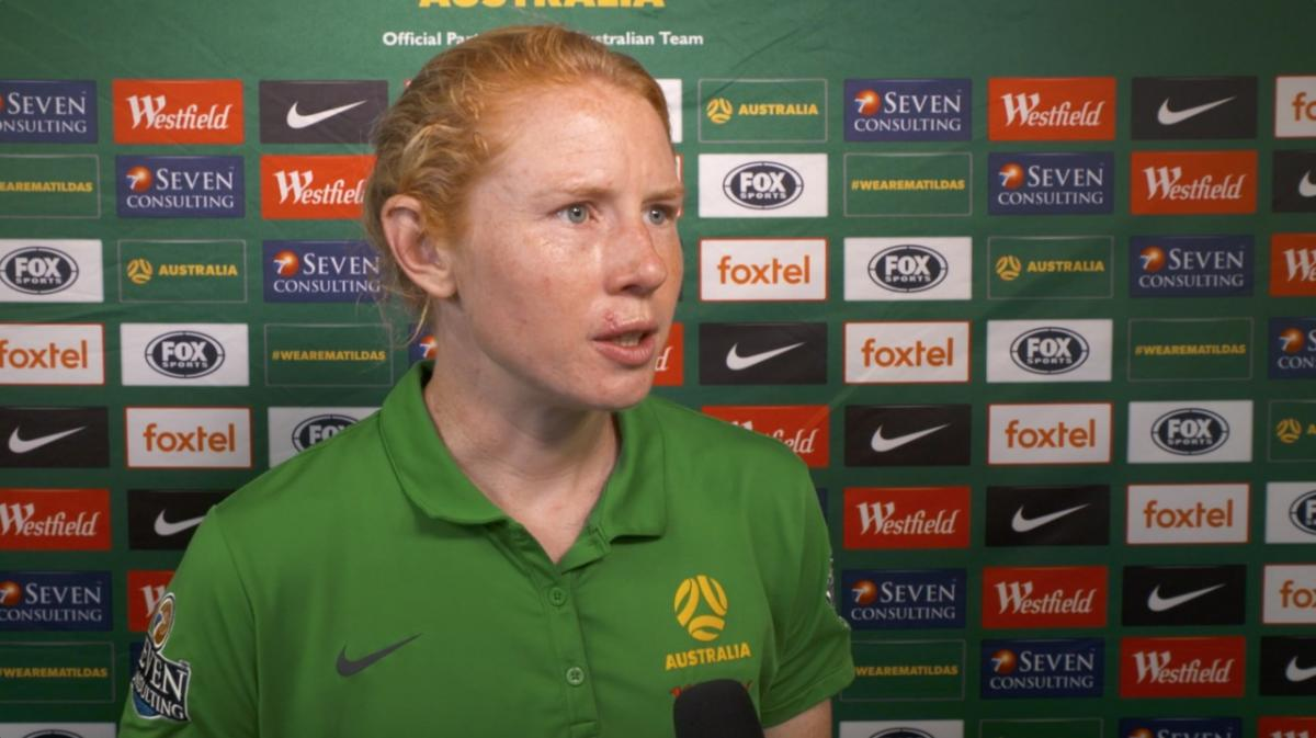 Post match: Clare Polkinghorne