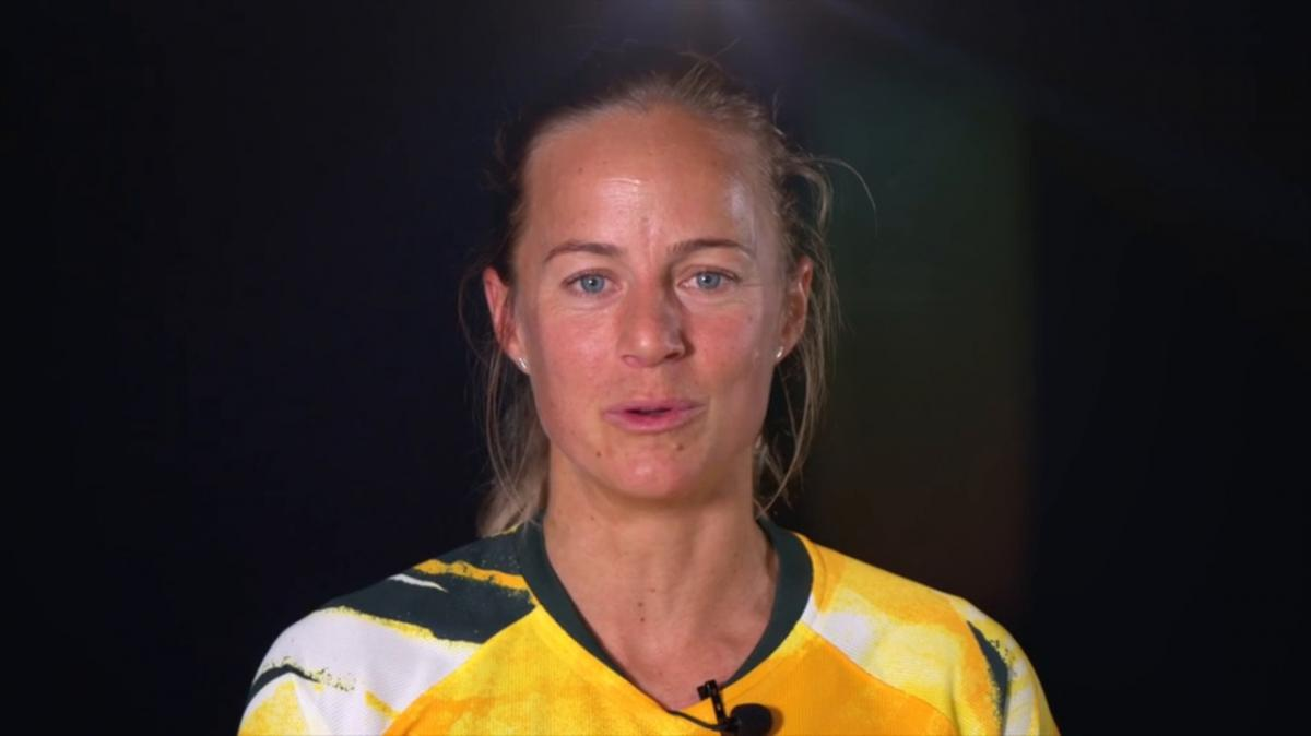 The Matildas say thank you to those who have sacrificed for them