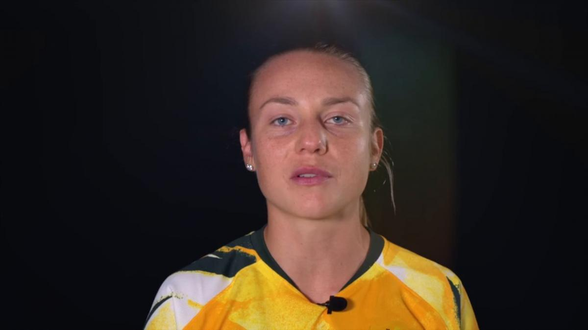 The Matildas explain the feeling after receiving their first World Cup call-up