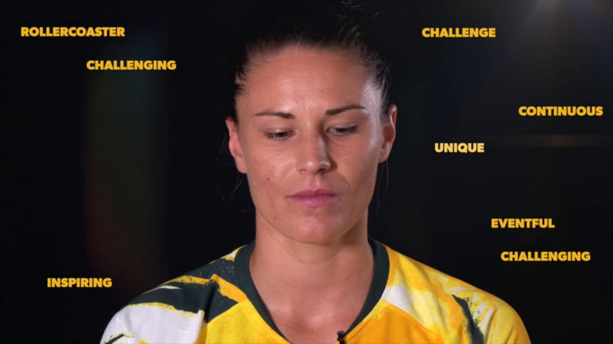 The Matildas describe their journey so far in one word