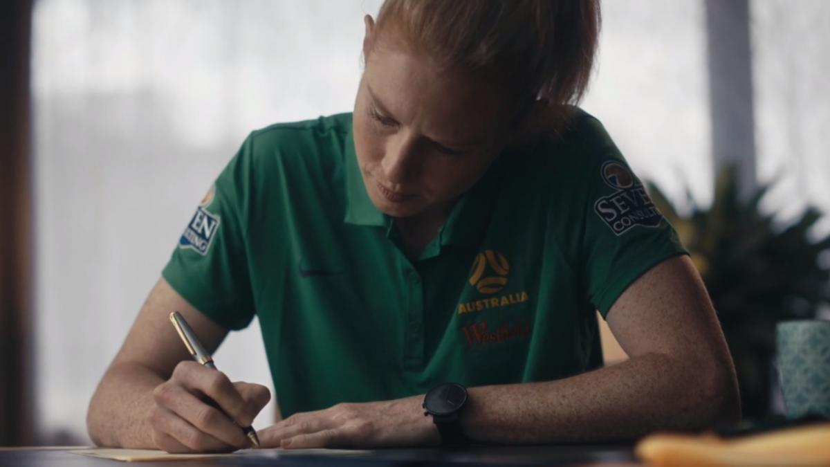 Letters from the Matildas - Clare Polkinghorne