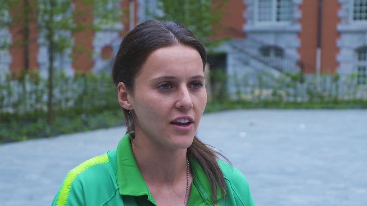 Hayley Raso: The Matildas have arrived in France