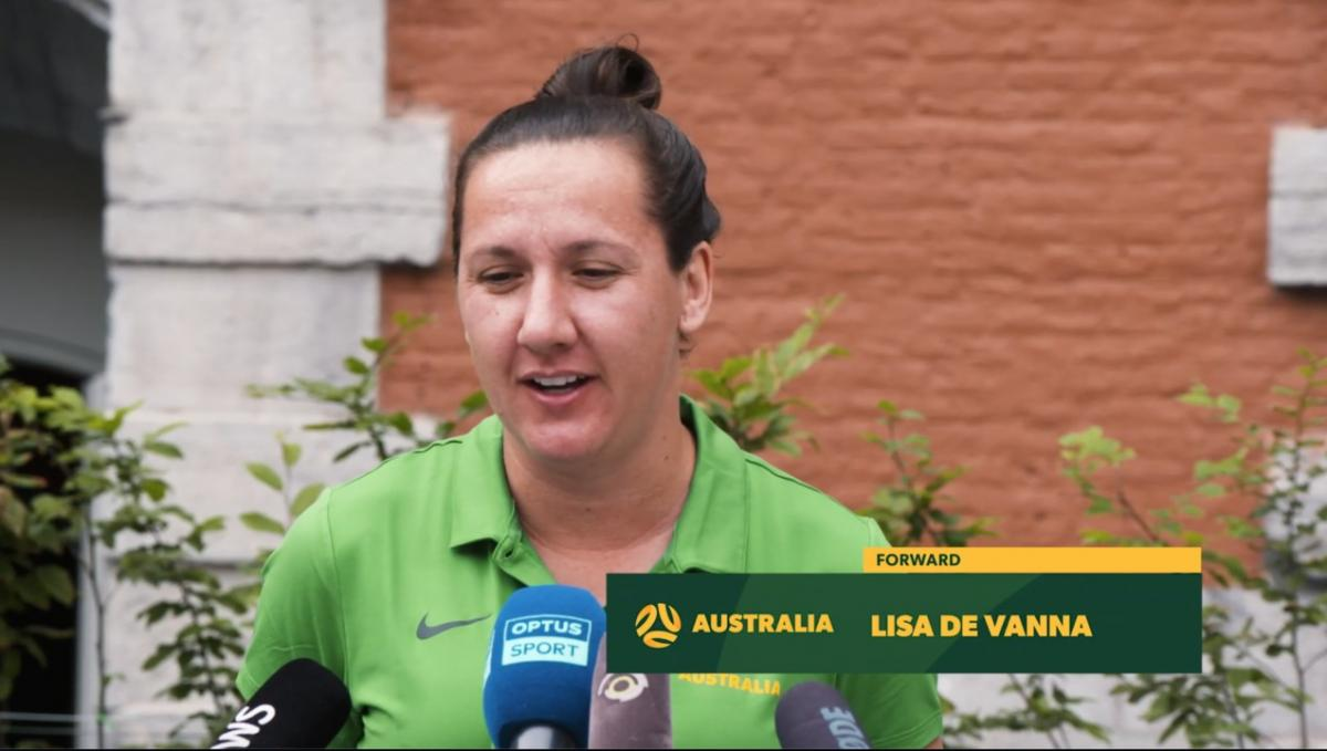 Lisa De Vanna: We're ready to show the world what we're capable of