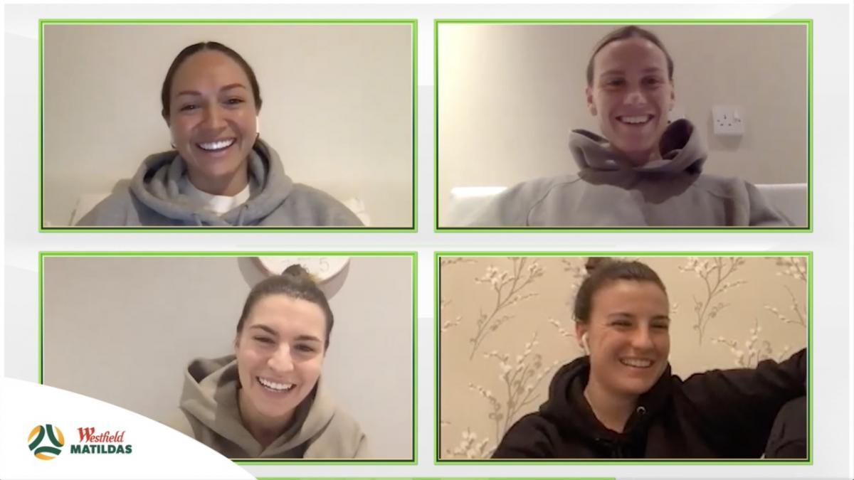 Westfield Matildas React - Australia v China Edition