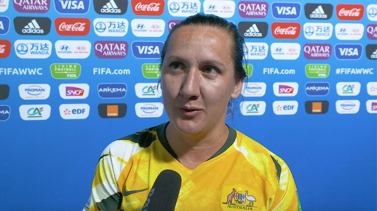 Lisa De Vanna plays at her fourth FIFA Women's World Cup
