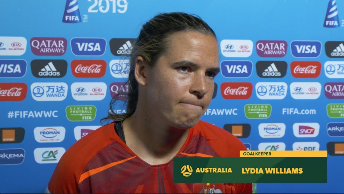 Lydia Williams: Ready for battle with Brazil